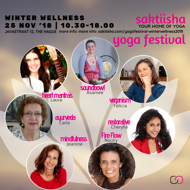 Program saktiisha yoga festival - winter wellness